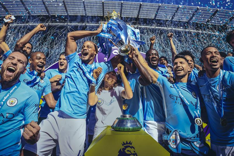 Manchester City First 1 Billion USD Football Team Record premier league england Manchester United Paris Saint Germain Spain Real Madrid soccer
