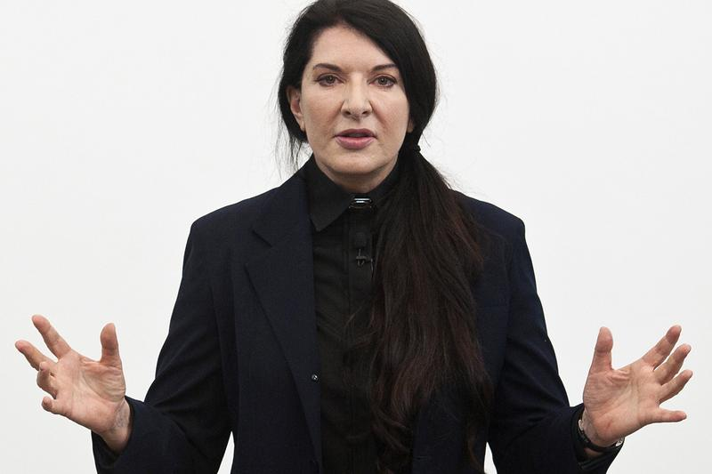 marina abramovic royal academy of arts london retrospective performance art
