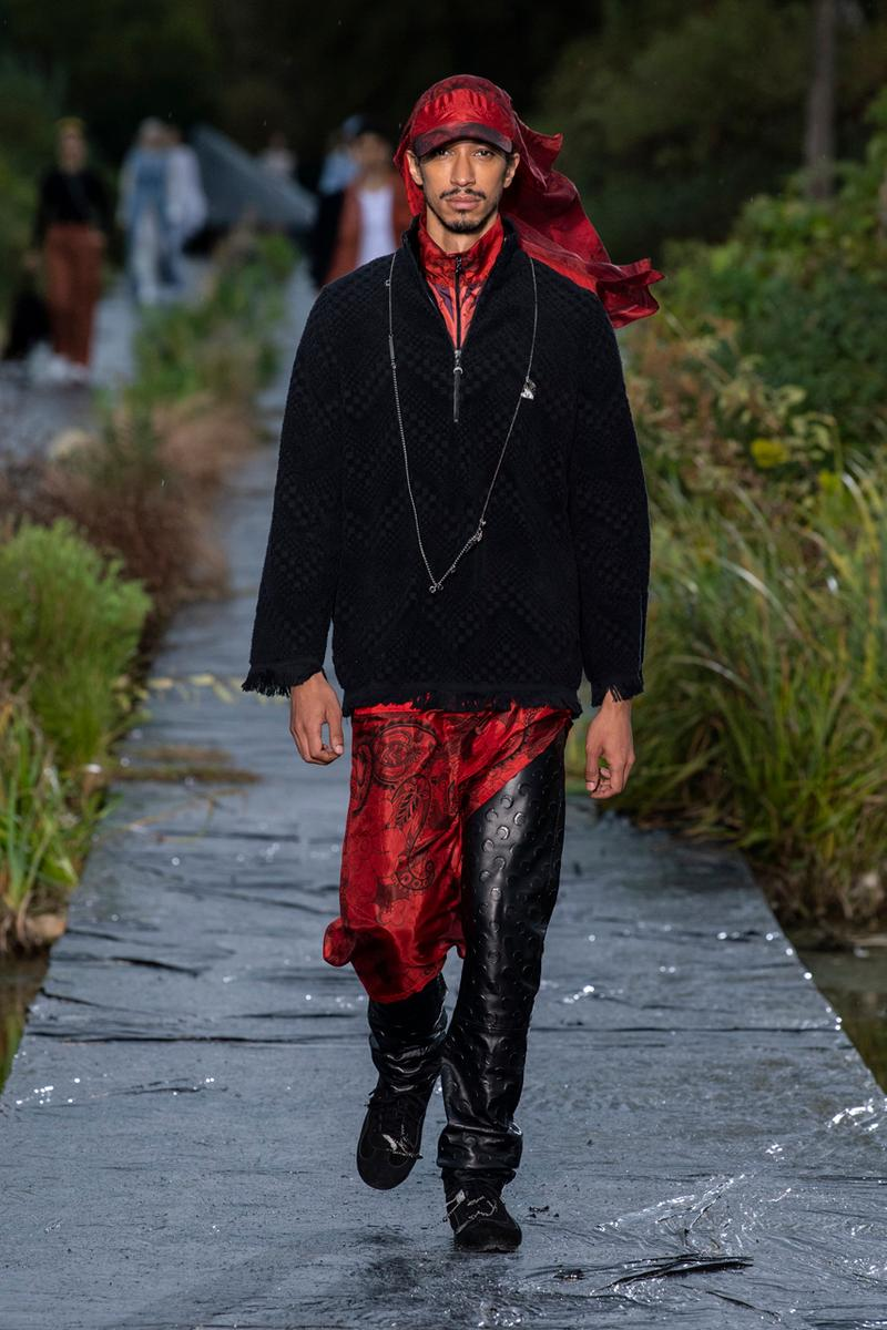 Marine Serre Spring/Summer 2020 Runway Collection paris fashion week pfw ss20 show presentation MARÉE NOIRE