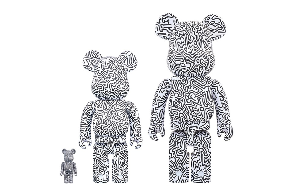 Medicom Toy's Fourth Limited Edition Keith Haring BE@RBRICK Has Landed