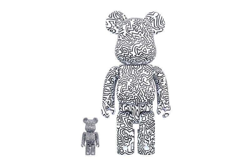 Medicom Toy BE@RBRICK Keith Haring fourth version 100 400 1000 percent monochromatic untitled 1980 new york artestar artist modern contemporary street