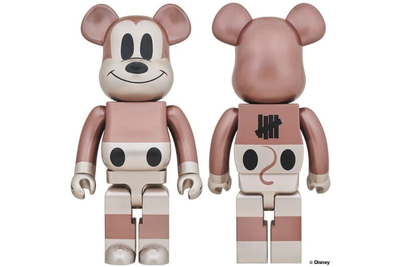 Medicom Toy Disney UNDEFEATED Mickey Mouse BE@RBRICKS