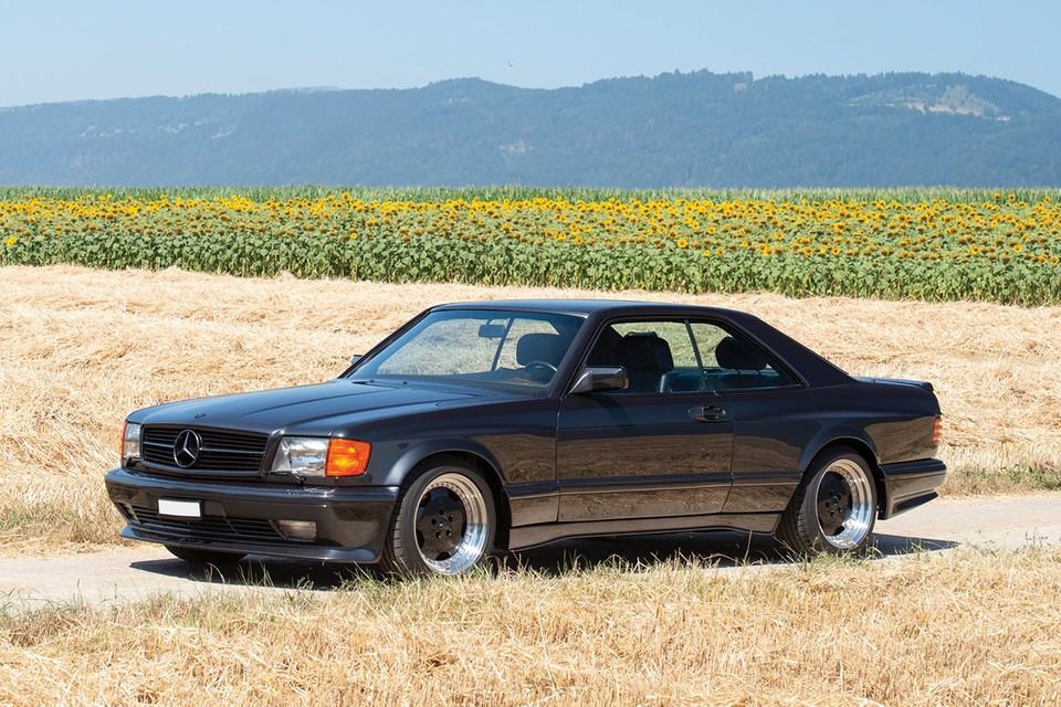 "A 1991 Mercedes-Benz 560 SEC AMG 6.0 ""Wide Body"" Dominates RM Sotheby's Next Auction"