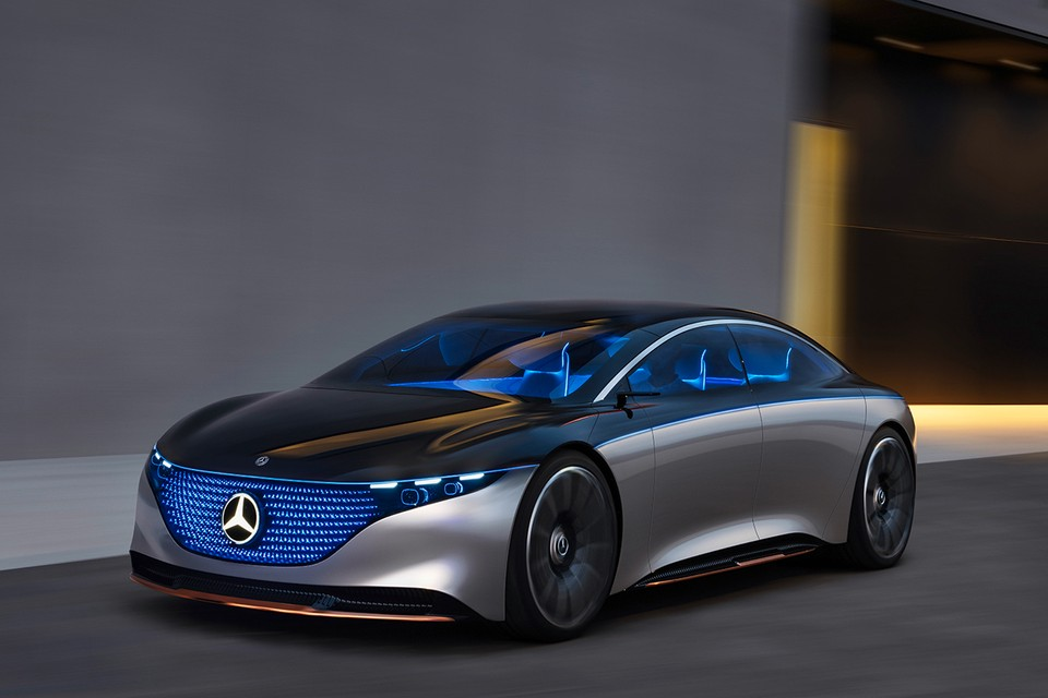 Mercedes-Benz Offers First Official Look at Fully-Electric EQS Concept