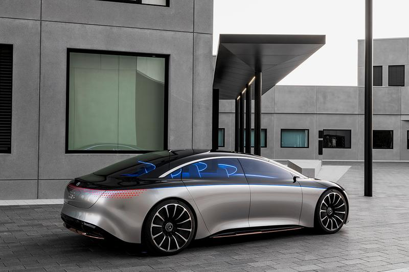 Mercedes-Benz EQS Fully Electric S-Class Luxury Saloon Concept Car Automotive Germany News Level 3 Autonomy 470 BHP 560lb ft Torque 0-60 MPH 4.5seconds