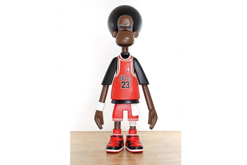 "Michael Lau ""COLLECT THEM ALL!"" Selling Exhibition Christie's Shanghai Michael Jordan Vinyl Figures Paintings Sculptures"