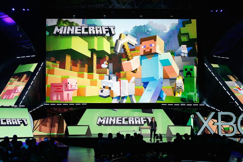 minecraft microsoft mojang notch monthly player base 112 million gamers gaming video games pc xbox playstation mobile