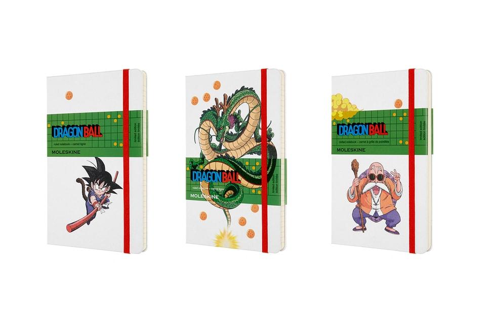 Moleskine & 'Dragon Ball' Join for Nostalgic Notebooks