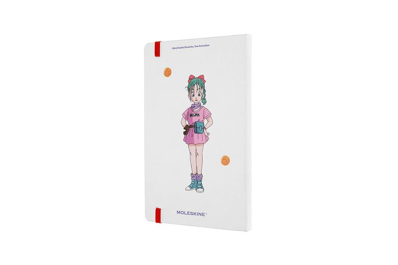 Moleskine Dragon Ball Notebook Release books Master Roshi Bulma Goku Chi-Chi