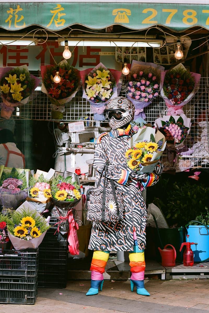 Moncler Genius World Tour Richard Quinn Collaboration Puffer Flower Ski Suit