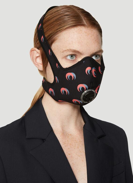 Marine Serre Black Crescent Moon Anti-Pollution Mask release where to buy price 2019