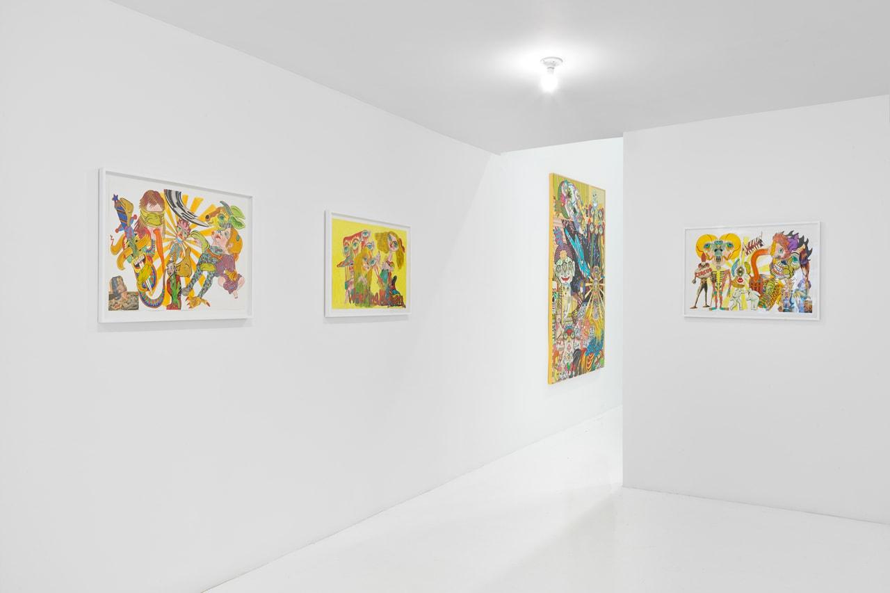 tokyo pop underground nanzuka jeffrey deitch keiichi tanaami artworks exhibitions paintings hajime sorayama azuma makoto haroshi