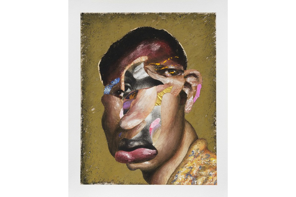 Nathaniel Mary Quinn Spotlights Stirring Composite Portraits in First Gagosian Exhibition