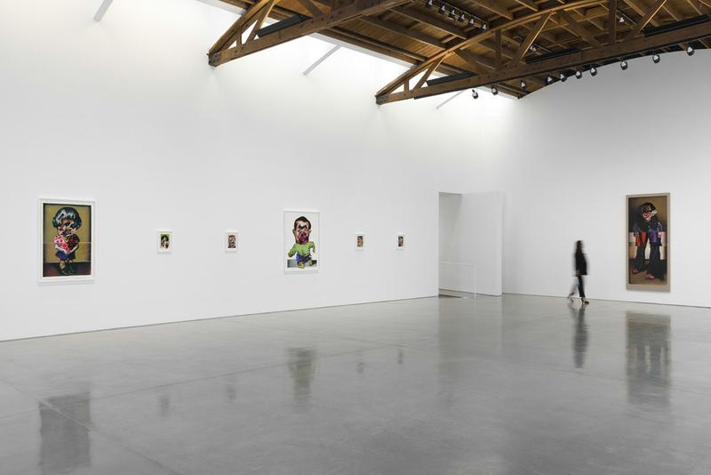 nathaniel mary quinn hollow and cut gagosian installation views paintings artworks contemporary art