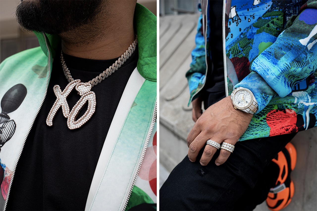 nav london street snaps prada dior xo chain skepta avianne co the weeknd reading leeds sold out show kentish town details style personal streetsnaps interview fashion style matthew m williams