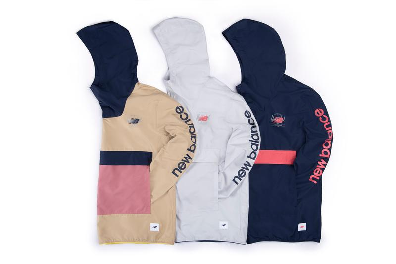 New Balance 801 Herschel Supply Capsule Collection Cruz Crossbody Anorak Long Sleeve Tee Mens Rock Night Lites Cement Abzorb tech Stefon Marbury SLAM cover collaboration