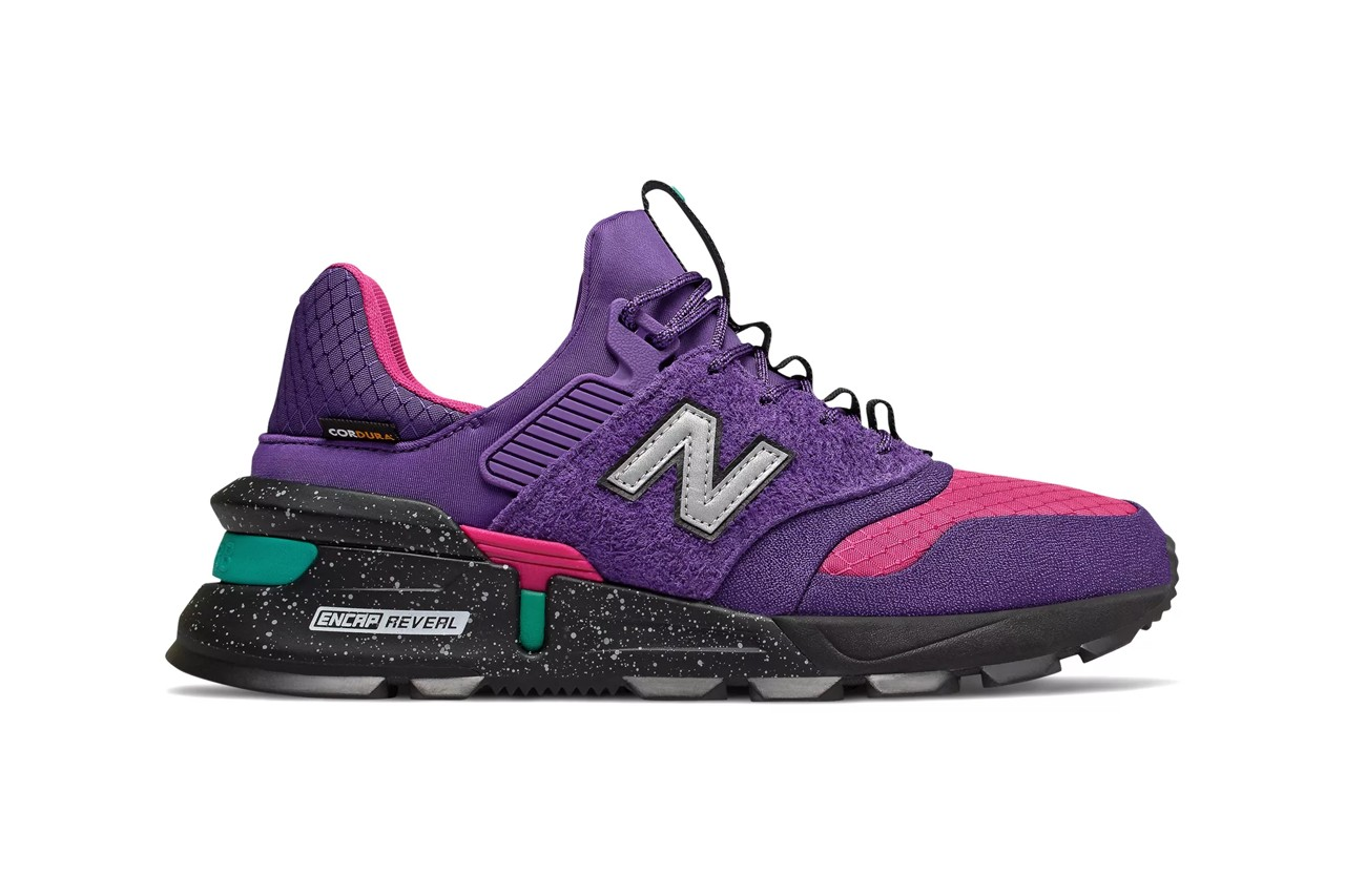 new balance 997 sport on feet