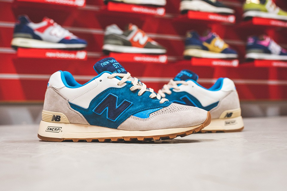 "HANON Celebrates New Balance's Archive With M577 ""Flimby Legend"""