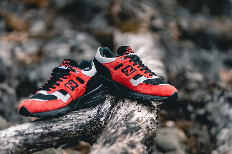 "New Balance ""Lava Pack"" Made in U.K. 1530 43einhalb Red Black Gray"