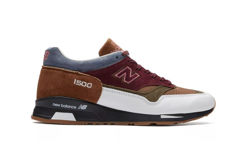 new balance scarlet stone pack sneakers made in uk 1530 made in uk 1500 burgundy white burnt orange grey colorway release date information