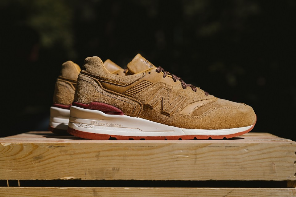 A Closer Look at the Stunning Red Wing Shoes x New Balance M997RW