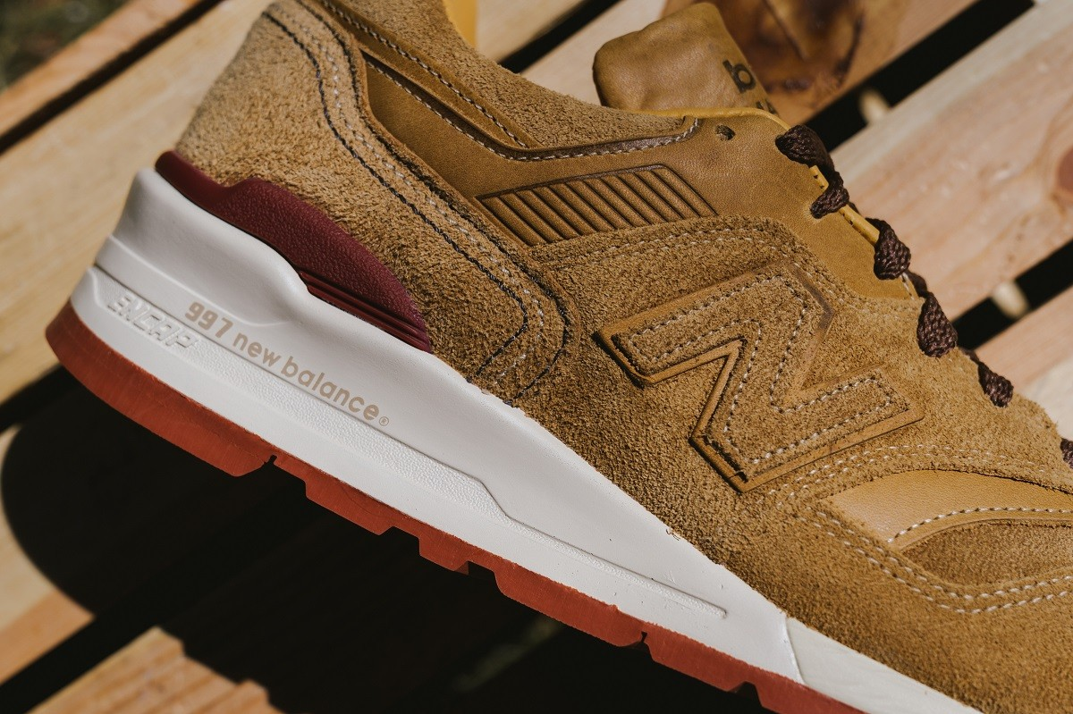 Red Wing Shoes x New Balance M997RW