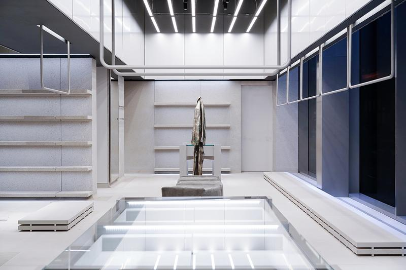 Balenciaga New NYC New York City Flagship Store Public Domain Technology Tobias Spichtig Sculpture 3D Scan Mannequin Urbanism Demna Gvasalia Madison Avenue Customization Exclusive