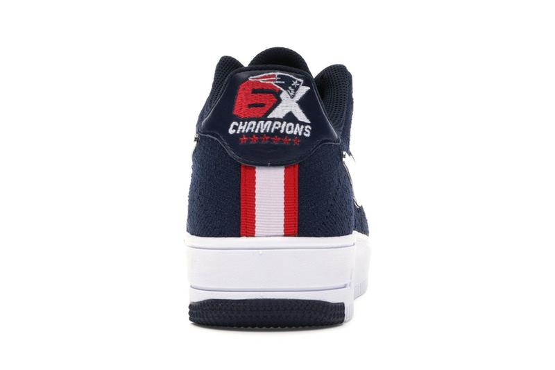 los angeles 8ffd7 c8fc0 Patriots x Nike Air Force 1