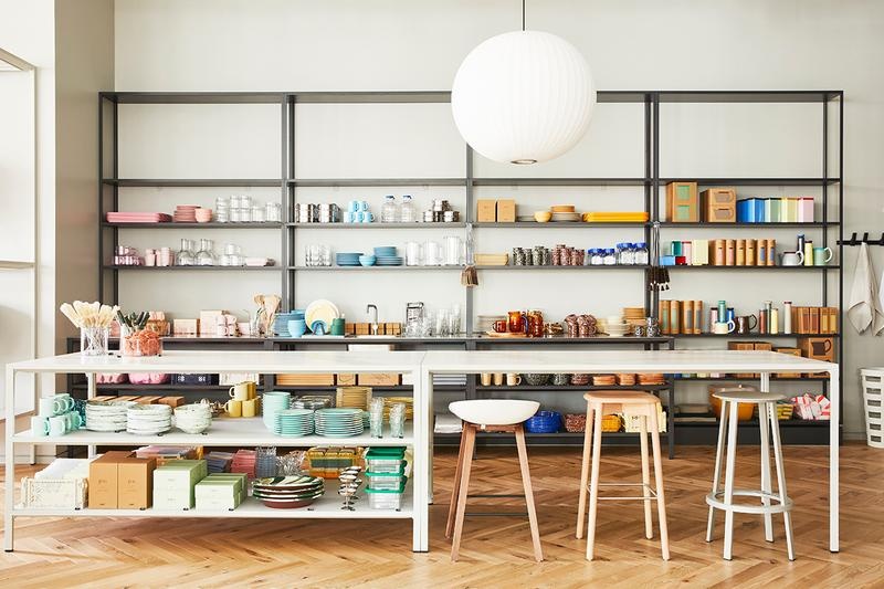 HAY Opens New 3,500 Square Foot Chicago Store Home Goods Accessories Furniture Lighting Shelving Lincoln Park Copenhagen Rolf Mette Hay