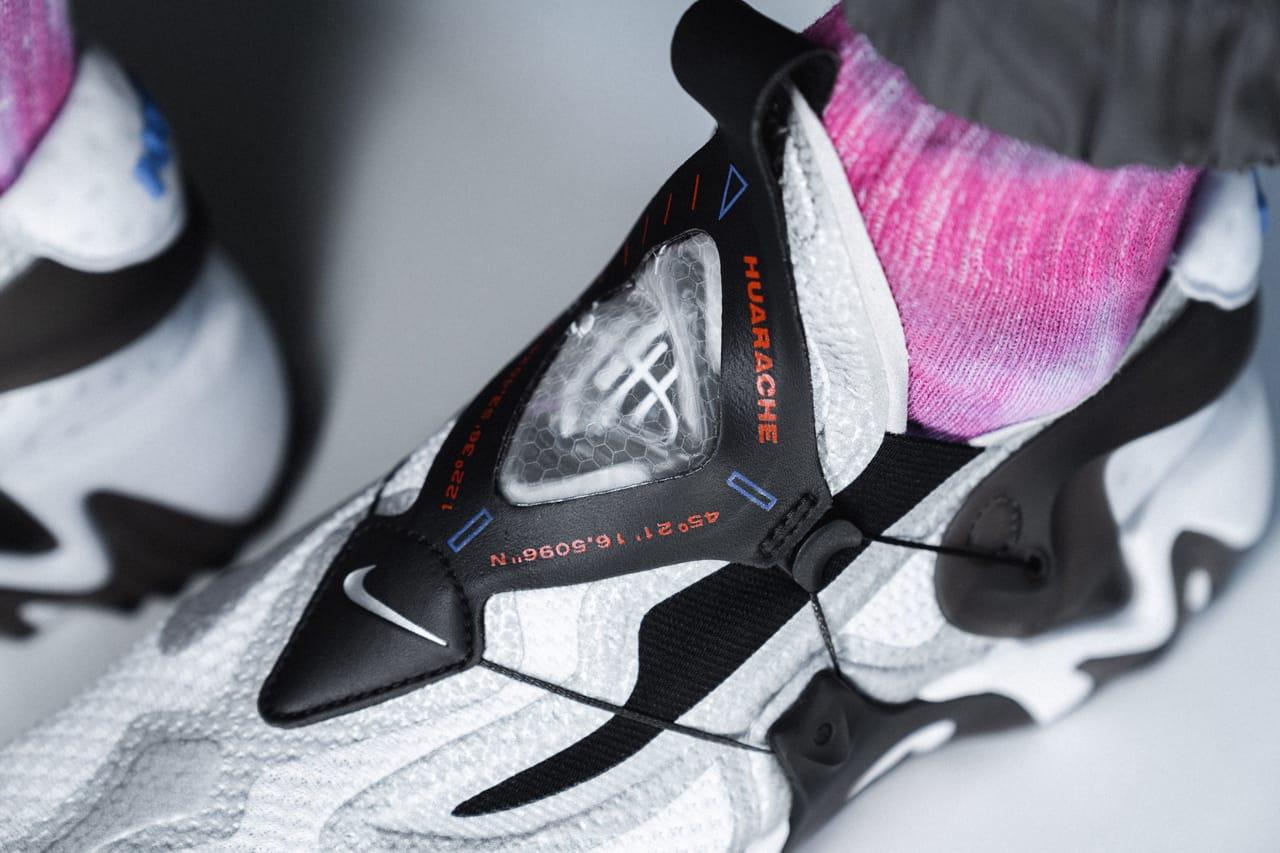 Nike Adapt Lacing Huarache On-Feet