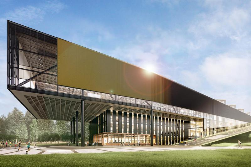 Nike Names Advanced Innovation Building After LeBron James beaverton world headquarter campus NBA basketball athlete