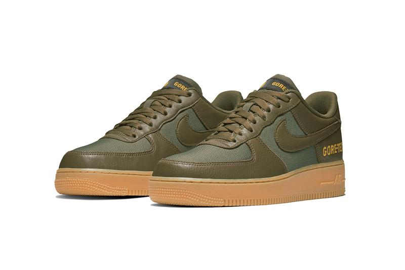 Nike Air Force 1 High, Low GORE-TEX Pack Drop info release date colorway white brown nsw the10th