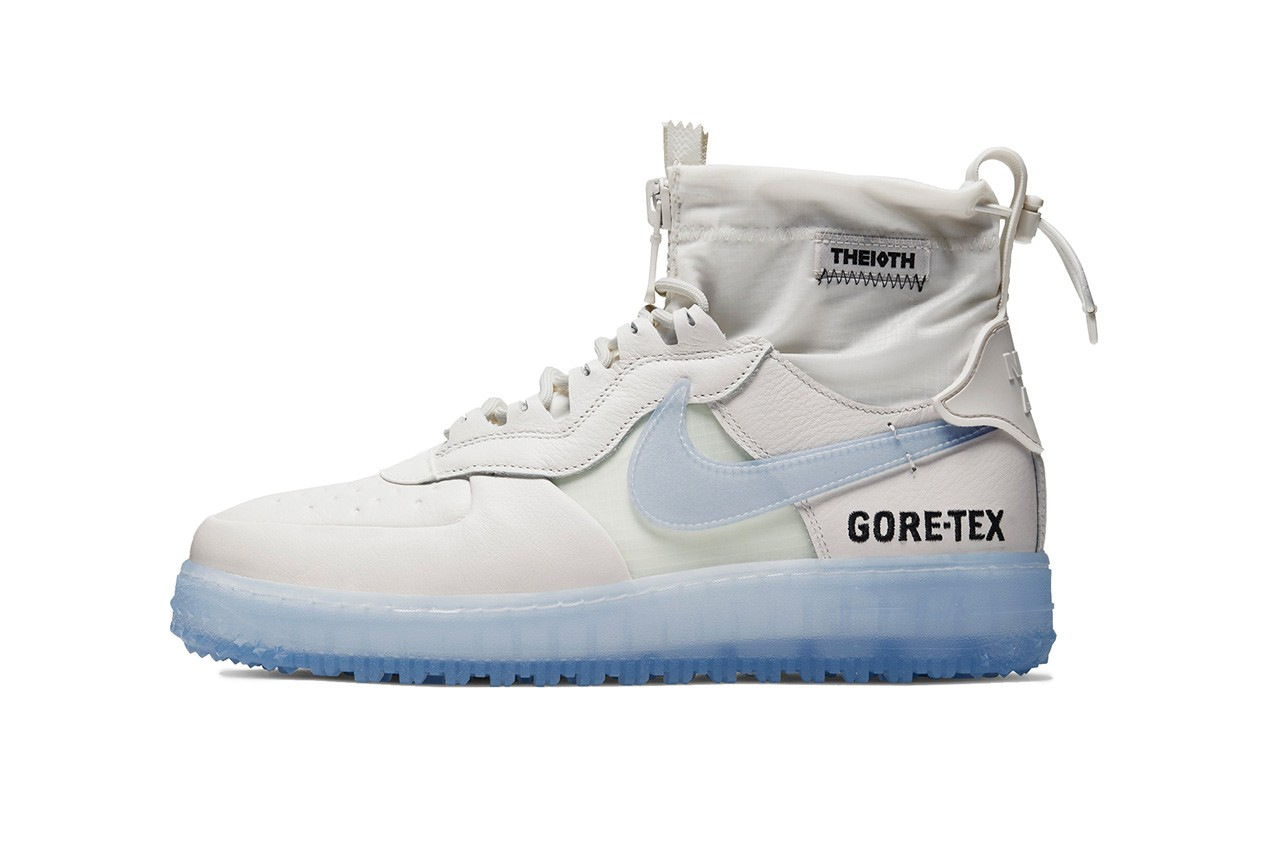 Nike Air Force 1 High, Low GORE,TEX Pack Drop