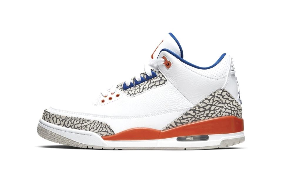 "Air Jordan 3 ""New York Knicks"" Celebrates MJ and Ewing's 1988 Battle"