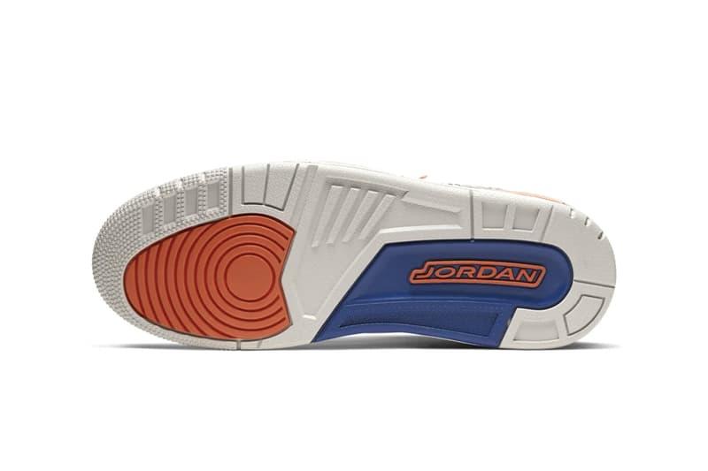 Nike Air Jordan 3 Brand III Michael MJ New York Knicks Colorway Release Information First Look Cop Drop Date Footwear Basketball AJ3 White Leather 04/08/88