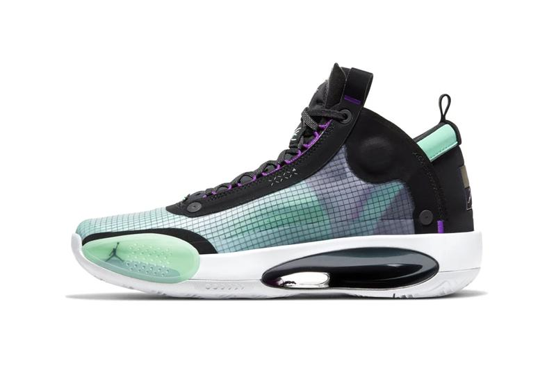 "Air Jordan 34 ""Blue Void"" sneaker where to buy price release 2019"