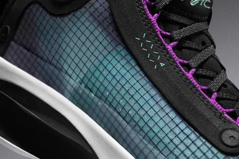 Nike Air Jordan XXXIV Signature Shoe Debut Jordan Brand MJ Michael Jordan Zion Williamson eclipse plate zoom air