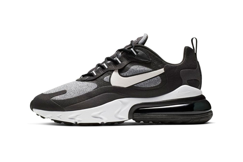 """Nike Offers the Air Max 270 React in Monochromatic """"Op Art"""""""