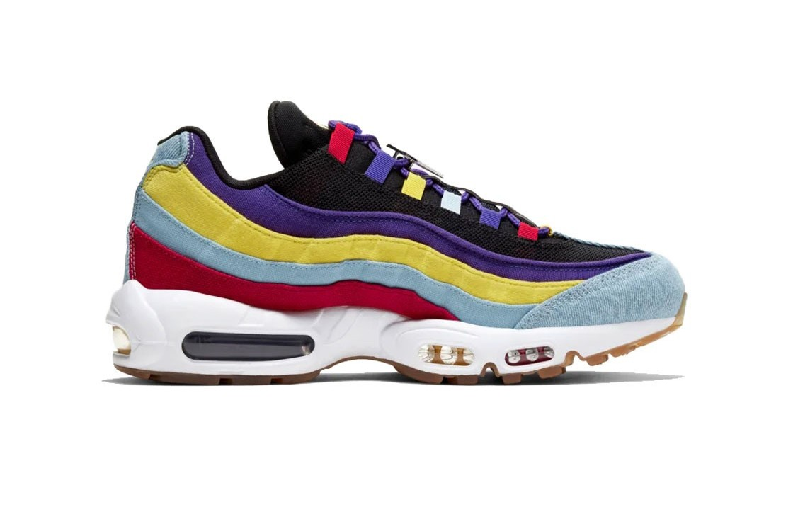 purple and blue air max 95