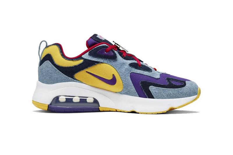 nike air max 95 97 200 pyschic blue electric yellow denim voltage purple university red atmosphere grey