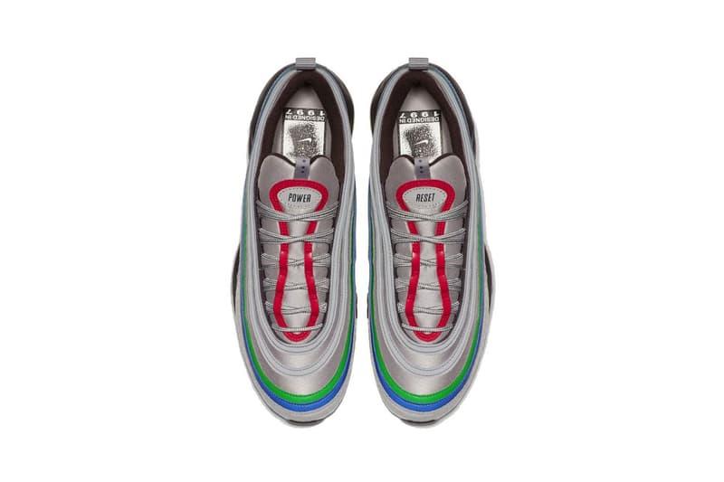Nike Air Max 97 Atmosphere Grey Gaming-Inspired colorway release date info september 25 2019 esrb nintendo 64 1997