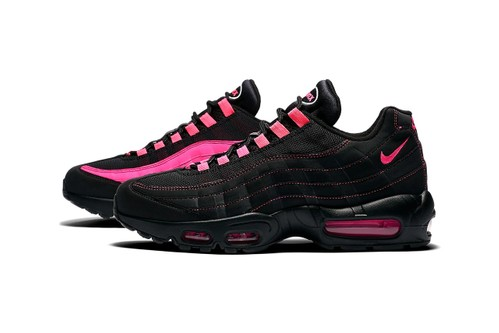 """Nike Splashes the Air Max 95 & Air Ghost Racer With """"Pink Blast"""""""