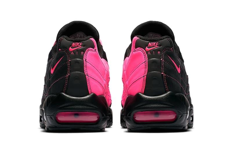 vente chaude en ligne 8c9d3 45511 Nike Air Max 95 OG, Ghost Racer Black/Pink Blast | HYPEBEAST