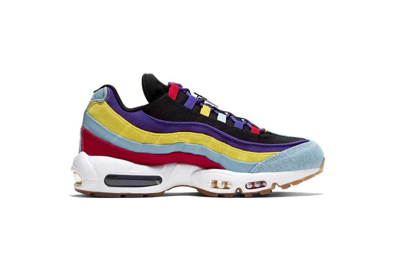 Nike Air Max 95 Psychic Blue/Chrome Yellow sneaker where to buy price release 2019