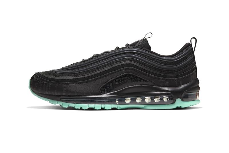 Nike Air Max 97 Green Glow Release 921826-017 Black Info date Buy