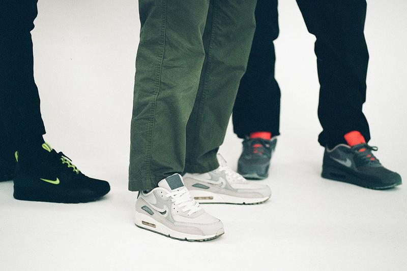 The Basement nike air max 90 city series glasgow london manchester footwear sneaker community facebook collection buy cop purchase pre order zainab abelque akeem williams gramm rory wood