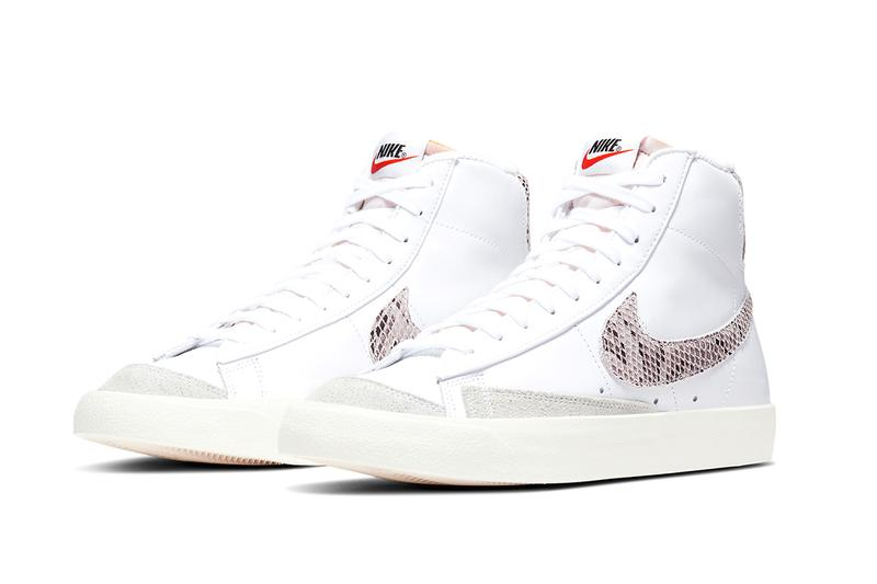 pretty nice 500fc aa001 Nike Blazer Mid '77 Vintage White Reptile Release | HYPEBEAST