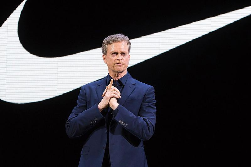 "Nike CEO Mark Parker on Air Max 1 ""Betsy Ross"" controversy interview fast company flag 13 stars colonial alt right"