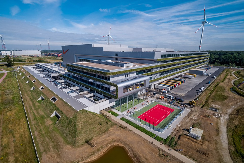 Nike Opens New Europe Distribution Center Powered Entirely By Renewable Energy