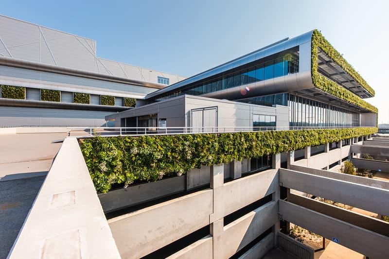 nike europe campus logistics distribution center renewable energy zero carbon emissions waste the court belgium ham